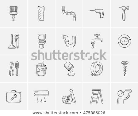 ipari · csap · vektor · terv · illusztráció · fém - stock fotó © morphart
