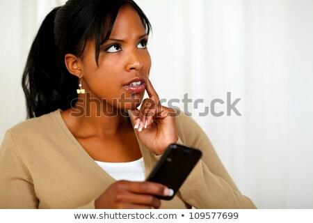 Imagem mulher telefone móvel Foto stock © wavebreak_media