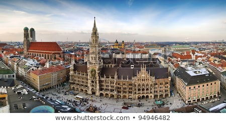 the frauenkirche is a church in the bavarian city of munich stock photo © meinzahn