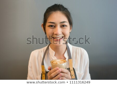 A foam in the mouth Stock photo © bluering