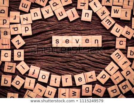 Bilmece kelime bilgelik puzzle parçaları ofis inşaat Stok fotoğraf © fuzzbones0