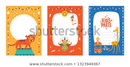 Colourful clowns Stock photo © bluering