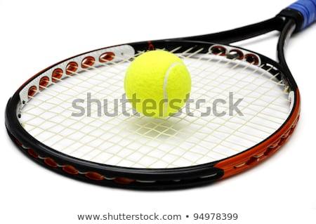 теннисный мяч белый спорт фитнес игры Сток-фото © dolgachov