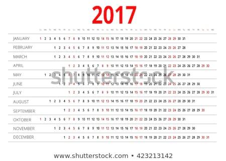 the 2017 date stock photo © fotovika