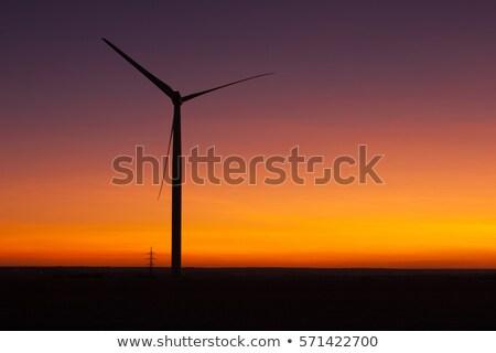 parque · eólico · cielo · volcánico · polvo · naturaleza · tecnología - foto stock © capturelight