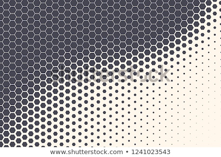Perforated Hexagon Stock photo © sdCrea