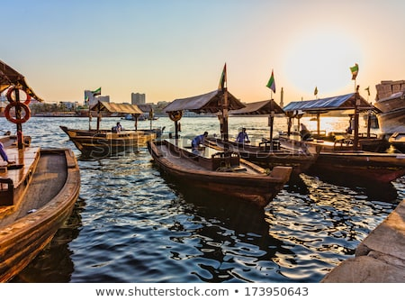 Dubai Creek Dhows stock photo © zambezi