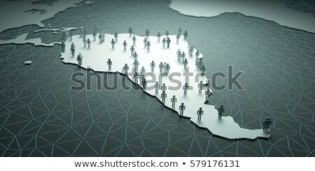 South America Population Stock photo © idesign
