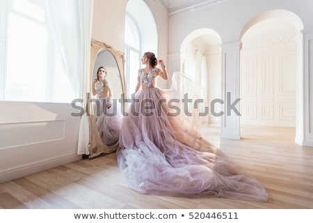 portrait of woman in hall of hotel Stock photo © ssuaphoto