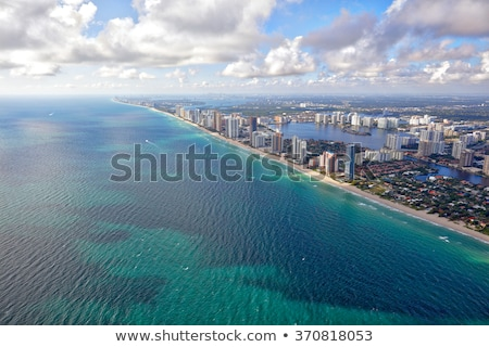 Aerial photo of Sunny Isles Beach FL.  Stock photo © alexmillos