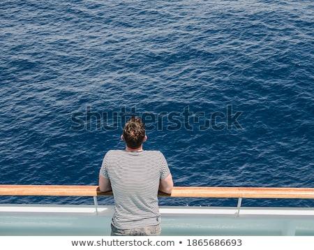 kunst · donkere · zee · stormachtig · water · achtergrond - stockfoto © joyr