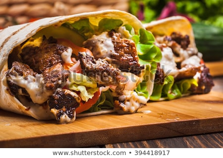 Beef and Vegetable Rolls Stock photo © monkey_business