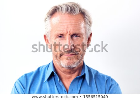 head shot of worried man stock photo © monkey_business