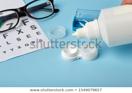 Turquoise Contact Lenses Stock photo © zhekos