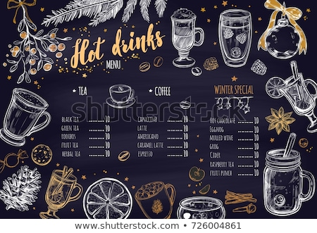 Hot Drink with Different Spice Stock photo © dariazu