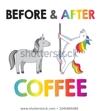 Caffeine dances. Stock photo © Fisher