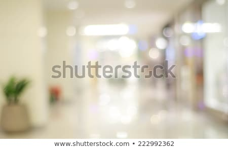 shopping mall blur background stock photo © vichie81