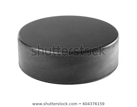 Ice Hockey Puck Background Stock photo © Lightsource
