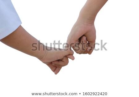 trouwringen · handen · bruiloft · liefde - stockfoto © sqback