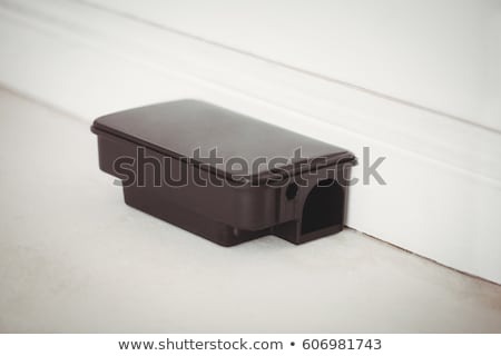 Rat bait box on white floor Stock photo © wavebreak_media