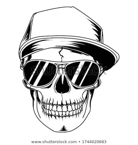 Cartoon Skull Stock photo © Krisdog