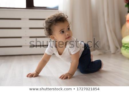 Creeping baby stock photo © pressmaster