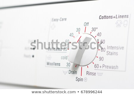 Close up of washer dial and presets Stock photo © IS2