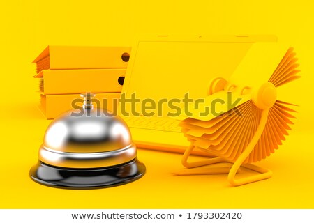 folder index with reserved 3d stock photo © tashatuvango