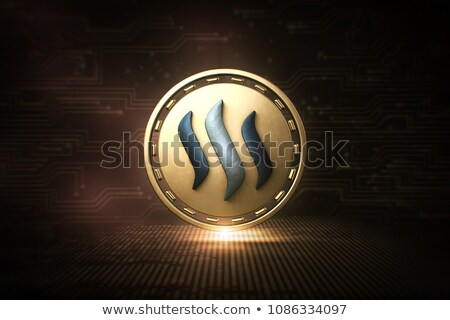 Steem - Cryptocurrency Coin. 3D rendering Stock photo © tashatuvango