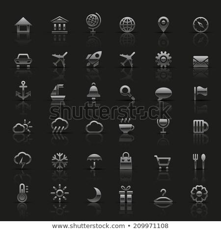 vervoer · zilver · illustratie · vector · achtergrond - stockfoto © yo-yo-