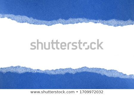 crumpled blue paper stock photo © barbaliss