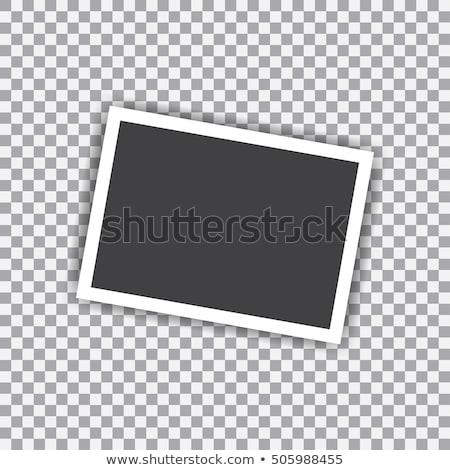 Instant Photo Transparent Pic Shadows Stock photo © limbi007