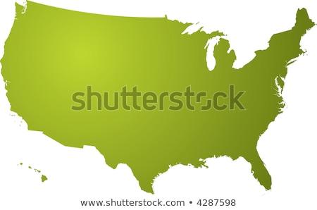 Kaart Arkansas witte textuur abstract achtergrond Stockfoto © kyryloff