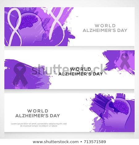 Alzheimer disease concept banner header. Stock photo © RAStudio