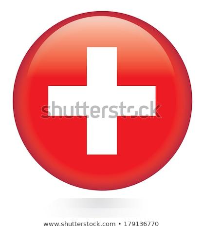 Svizzera bandiera frame illustrazione design sfondo Foto d'archivio © colematt