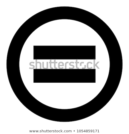 Stock photo: Graphic equalizer icon