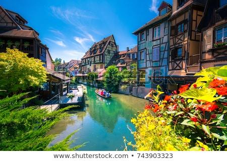 Güzel kasaba Fransa kanal ünlü Stok fotoğraf © neirfy