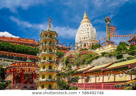 Buddhist temple Kek Lok Si in Penang, Malaysia, Georgetown Stock photo © galitskaya