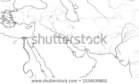 mapa · Síria · político · vários · abstrato · mundo - foto stock © glasaigh