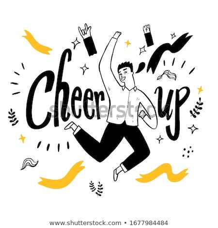 Stock fotó: Cheering Up