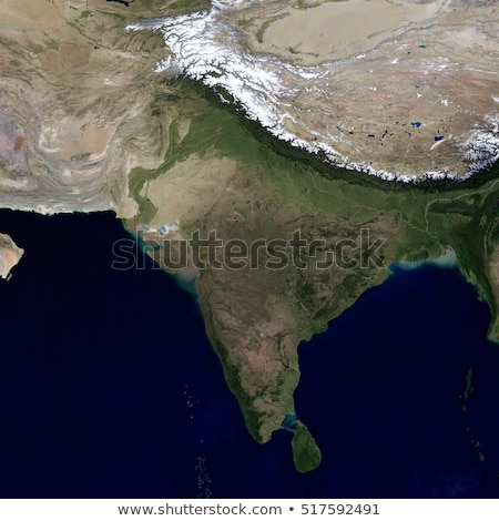 India and the surrounding region. View from space. Stock photo © NASA_images