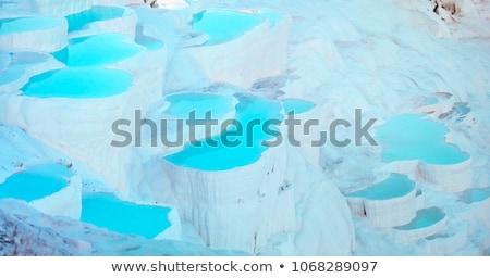 zwembad · Turkije · natuurlijke · fenomeen · water · schoonheid - stockfoto © grafvision