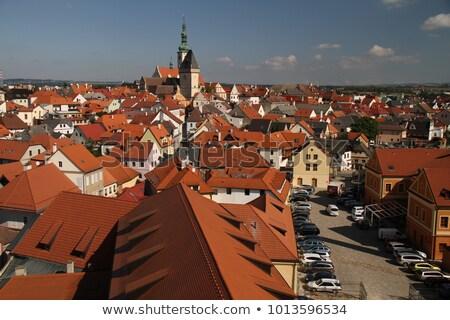 historic houses, Tabor, Czech Republic Stock photo © borisb17