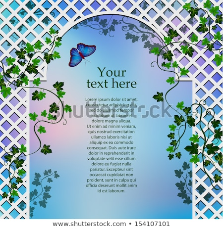 Stock photo: White Arbor