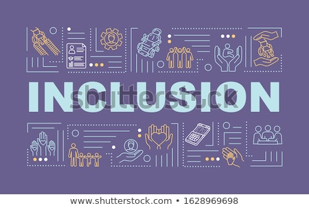 Inclusive education concept banner header Stock photo © RAStudio
