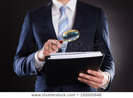 Auditor Investigating Corporate Fraud Stock photo © AndreyPopov