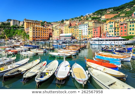 marina in Genoa, Italy Stock photo © Antonio-S