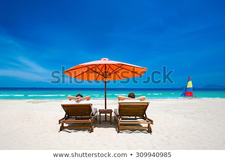 mulher · natação · abrir · mar · água · esportes - foto stock © photography33