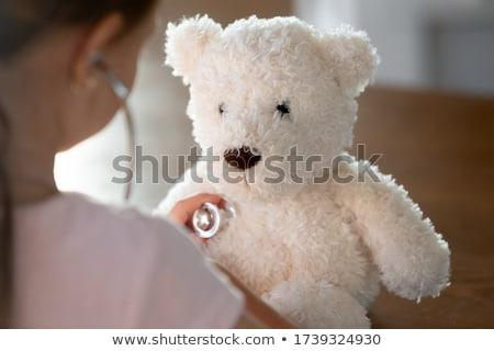 medico · ascolto · battito · cardiaco · stetoscopio · uomo - foto d'archivio © photography33