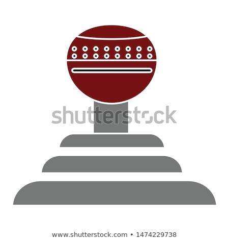 Stock photo: Automat Gearshift Vector Illustration